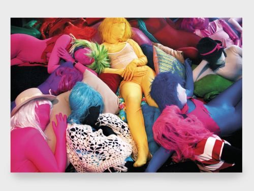 Matti Kallioinen, Victims of Lullabies, 2009. Process image, 17 x 26 in, 44 x 66 cm