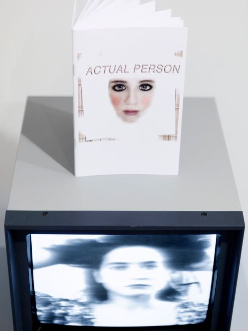 Deanna Havas, Actual Person, 2014, Book, 20 pages. Steve Hanft, MIRROR POV, 2014, Film, 02:16 min