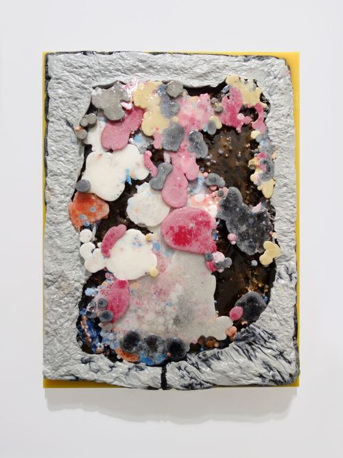 Jesse Greenberg, Push Fat, 2014. Resin and pigment, 26 x 20 in, 66 x 51 cm