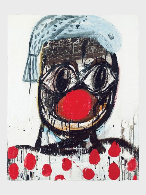 Eddie Martinez, Untitled, 2008. Mixed media on canvas, 30 x 24 in, 76 x 61 cm