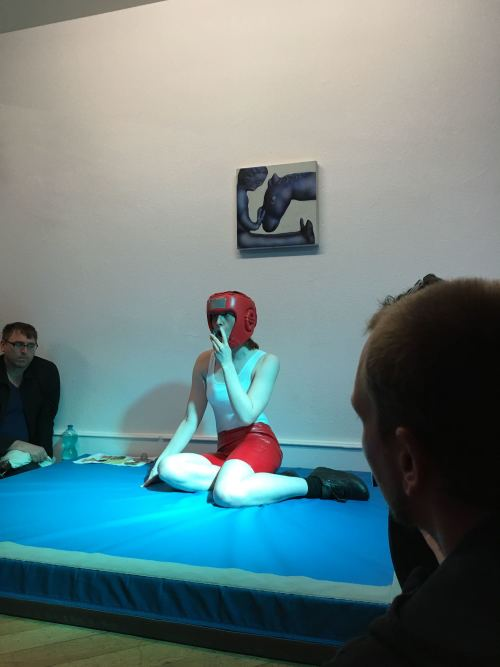 Eye of the Tired, 2016. Performance at Deli Projects, Basel