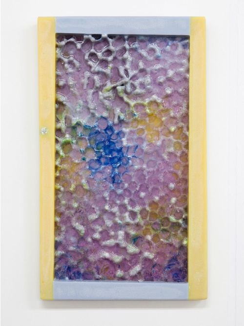 Jesse Greenberg, Temp Scan, 2015. Resin and pigment, 17 x 11 in, 43 x 28 cm