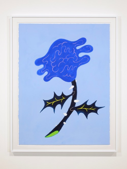 Constance Tenvik, The Rose of Water, 2019. Gouache on paper, 30 x 22 in, 76 x 57 cm