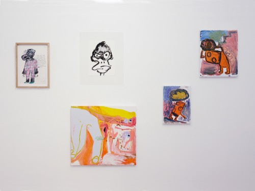 A Seed's A Star curated by Constance Tenvik. Bjarne Melgaard, Lex Brown, Sarah Faux