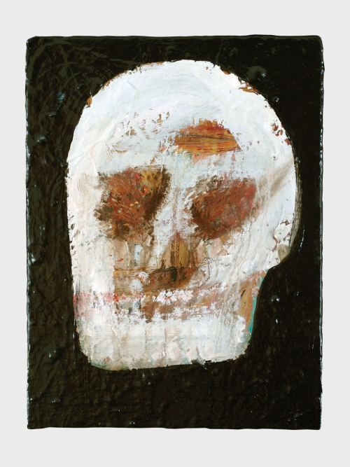 Eddie Martinez, Untitled, 2008. Mixed media on canvas, 16 x 12 in, 41 x 31 cm