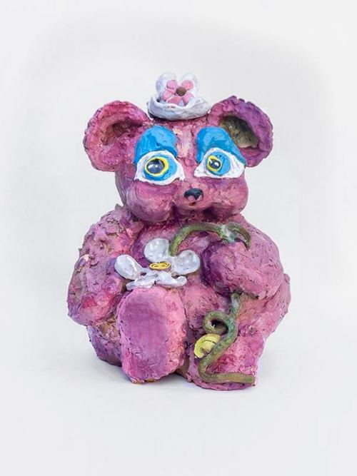 Alake Shilling, Big Eyes Bear, 2018.