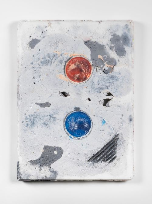 Jesse Greenberg, Registration Mark 4, 2015. Resin, pigment, 23.5 x 17.25 x 1.75 in, 60 x 44 x 5 cm
