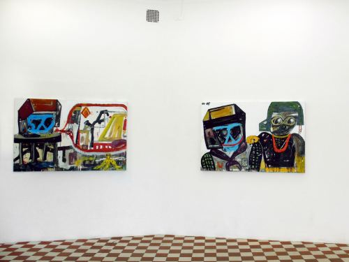 Eddie Martinez, New Paintings.