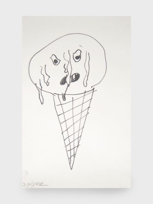Ian Flynn, 2010, Ice Cream. Ink on paper